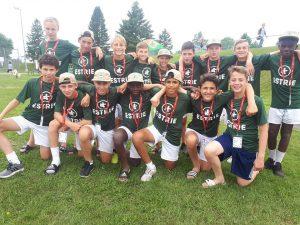 L'équipe de soccer masculine de l'Estrie